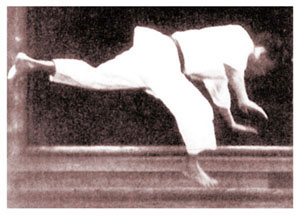 Waka sensei's tobi ushiro geri, 1944